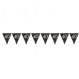 Banderines para cumpleaños 40 Elegant
