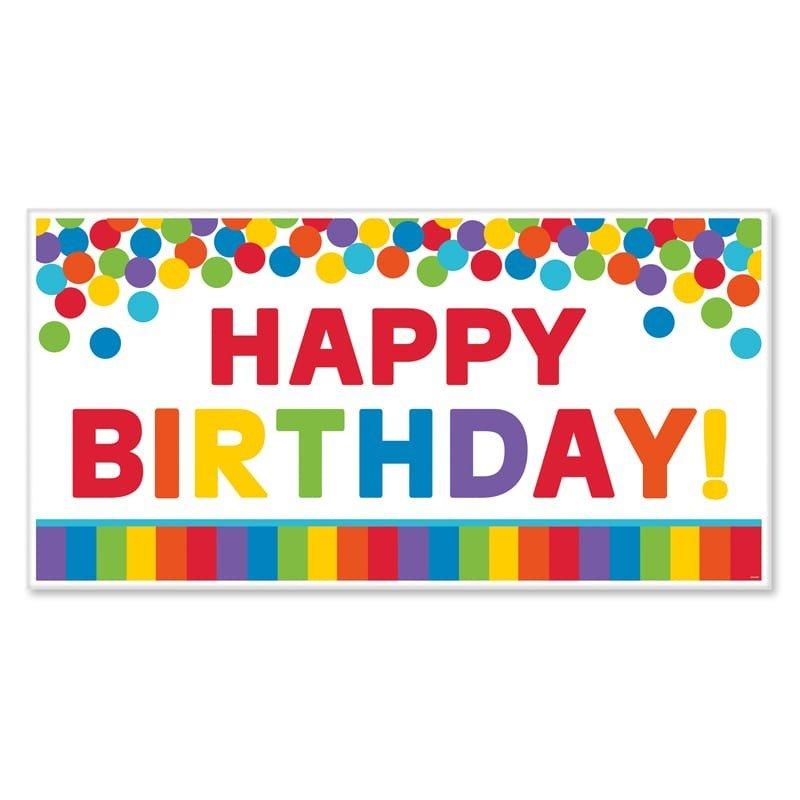 fondo happy birthday arcoiris x cm