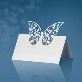10 Tarjetas con Mariposa 9 x 7,3 cm