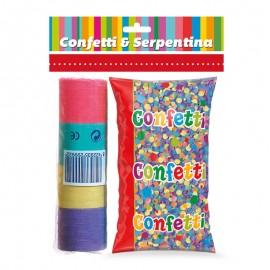 Bolsa Confeti nº1 con 20 Serpentinas