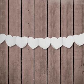 Guirnalda forma Corazon de Papel 11 cm x 3 mts
