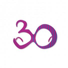 Gafas para Cumpleaños Número 30