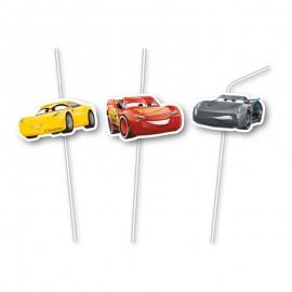 6 Pajitas de los Cars 3