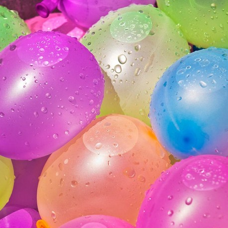 Globos de Látex para Agua 13 cm
