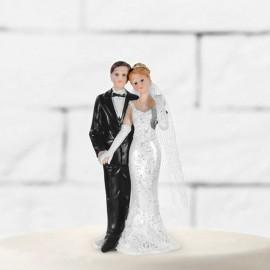 Figura de Novios Recién Casados