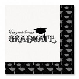 20 Servilletas de Graduación