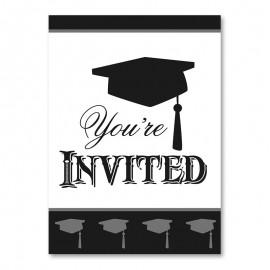 8 Invitaciones de Graduación