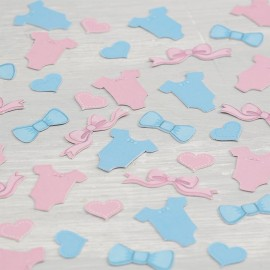 Confeti para Niño y Niña Baby Shower