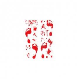 Decoración Pisadas de Sangre