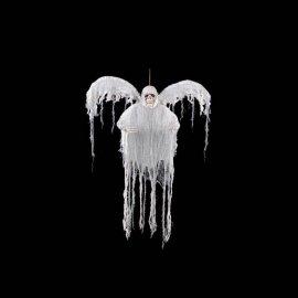 Fantasma Blanco con Luz Multicolor y Alas