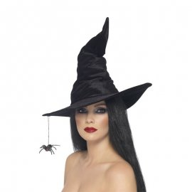 Sombrero con Arañas Negro