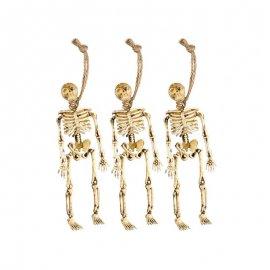 3 Esqueletos Colgantes 15 cm