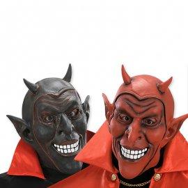Máscara de Diablo con Cuernos