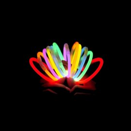 Pulseras Luminosas Unicolor (15 uds)