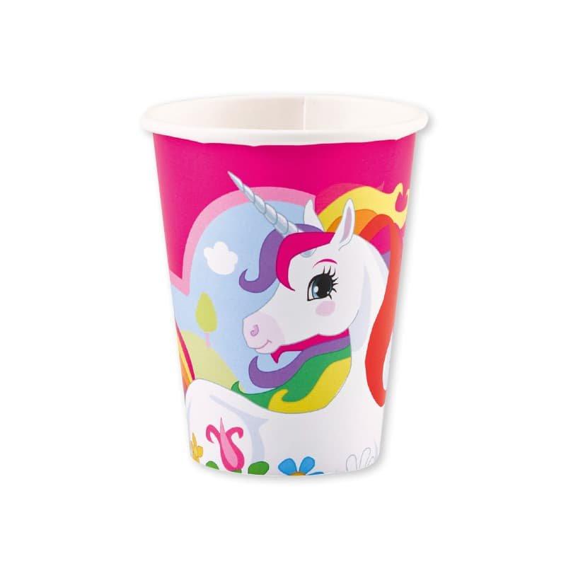 Fiesta de cumplea os unicornio infantil con decoracion - Vasos para cumpleanos infantiles ...