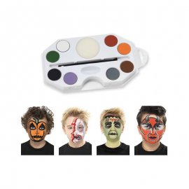 Kit de Maquillaje Halloween 8 Colores