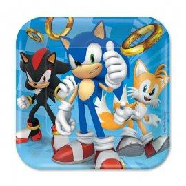 8 Platos Sonic 18 cm