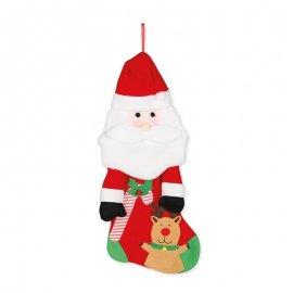 Calcetín Santa Claus 50 cm