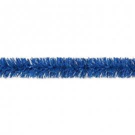 Boa Azul con Topos Blancos 10 x 180 cm
