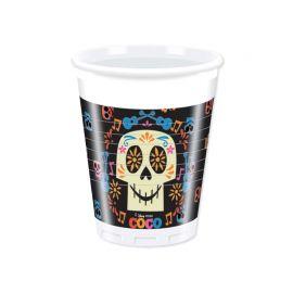 8 Vasos Coco 200 ml