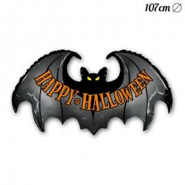Globo Forma Murcielago Halloween Foil 107 cm