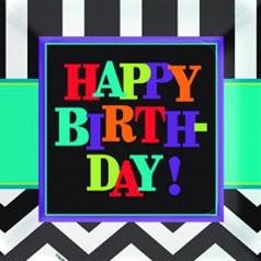 Cumpleaños Chevron