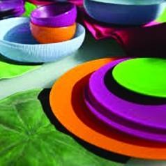 Vajillas de Colores