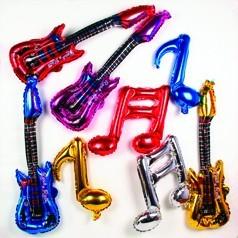 Globos Notas Musicales
