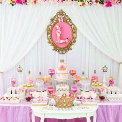 mesa dulce princesas