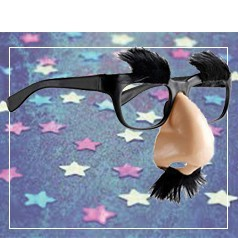 Gafas con Bigote