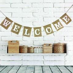 Decoración Bienvenida