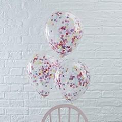 globos con confeti