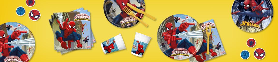 Cumpleaños Spidermanartículos De Fiesta Y Decoración