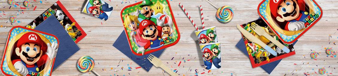 Cumpleaños Super Mario Bros Fiesta Accesorios Y Cosas Fiestasmix