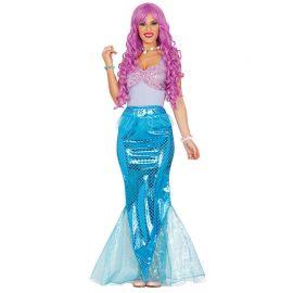 Disfraz de Sirena para Mujer de los Mares