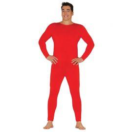 Disfraz con Maillot para Hombre Rojo