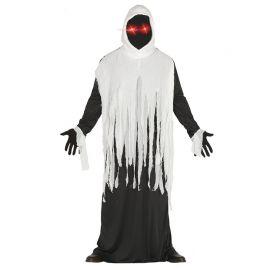 Disfraz de Fantasma para Hombre con Ojos Led