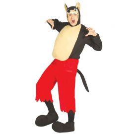 Disfraz del Lobo Feroz para Adulto con Capucha