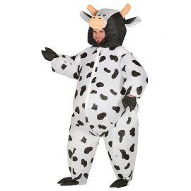 Disfraz de Vaca para Adulto para Hinchar