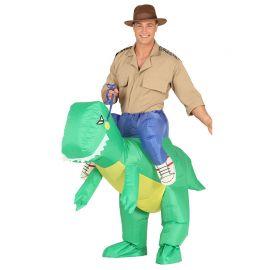 Disfraz de Dinosaurio para Adulto con Ventilador