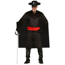 Disfraz de Justiciero para Hombre Negro