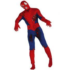 Disfraz de Superhero Zombie Rojo
