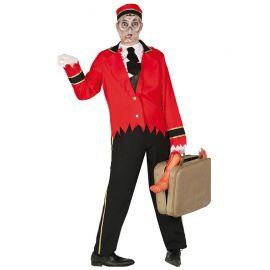Disfraz de Botones Fantasma para Hombre con Pechera