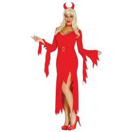 Disfraz de Diablesa para Mujer con Diadema