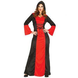 Disfraz de Abaddon para Mujer con Capucha