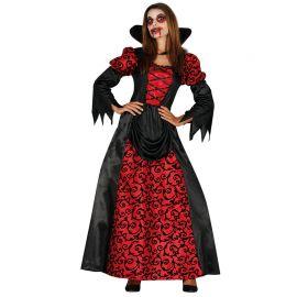 Disfraz de Vampiresa para Mujer con Mangas Largas