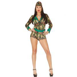 Disfraz de Militar para Mujer con Tono Sexy