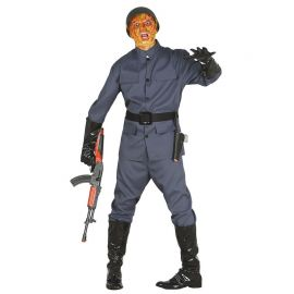 Disfraz de Soldado Zombie para Hombre con Chaqueta