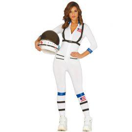 Disfraz de Astronauta para Mujer con Tirantes