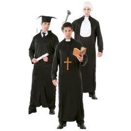 Disfraz de Graduado/Religioso/Juez para Hombre